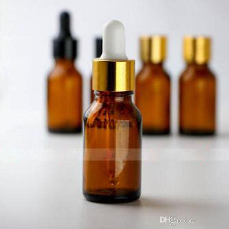 Glass Bottles E Liquid Bottles 15ml Glass Dropper Bottles with 5 Styles Tops 1/2OZ eCIG Oil Bottle