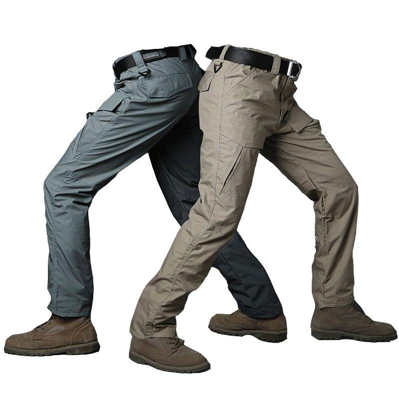 Mutter & Kinder Schwarz Cargo Pants Armee Militärische Taktische Hosen Männer Arbeit Pantalones Kampf Swat Taktische Kleidung Camo Overalls Casual Hosen