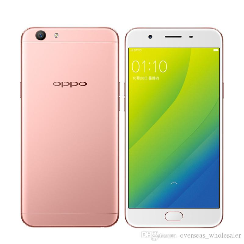 Original Oppo A59S 4G LTE Mobile Phone MT6750 Octa Core 4GB RAM 32GB ROM  Android 5 5 HD 16 0MP Fingerprint ID OTG Smart Cell Phone New