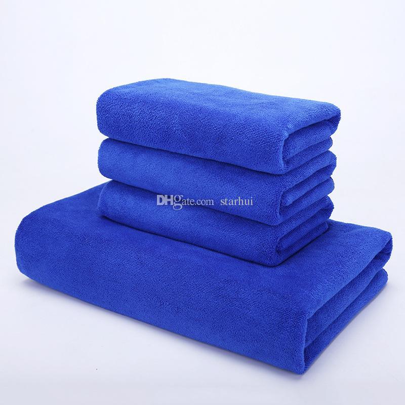 Ткань чистки быстрое засыхание поглощение воды автоматические чистые полотенца Superfine чистота кухни волокна полотенца салона красоты полотенец 30*70cm WX-T05