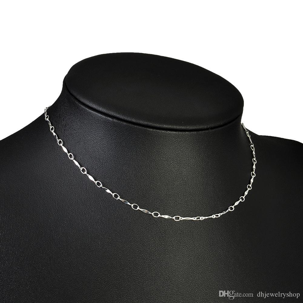Женщины старинные мода золото/серебро колье воротник простой готический заявление цепи ожерелье чешский классические ювелирные изделия Оптовая личность Infini