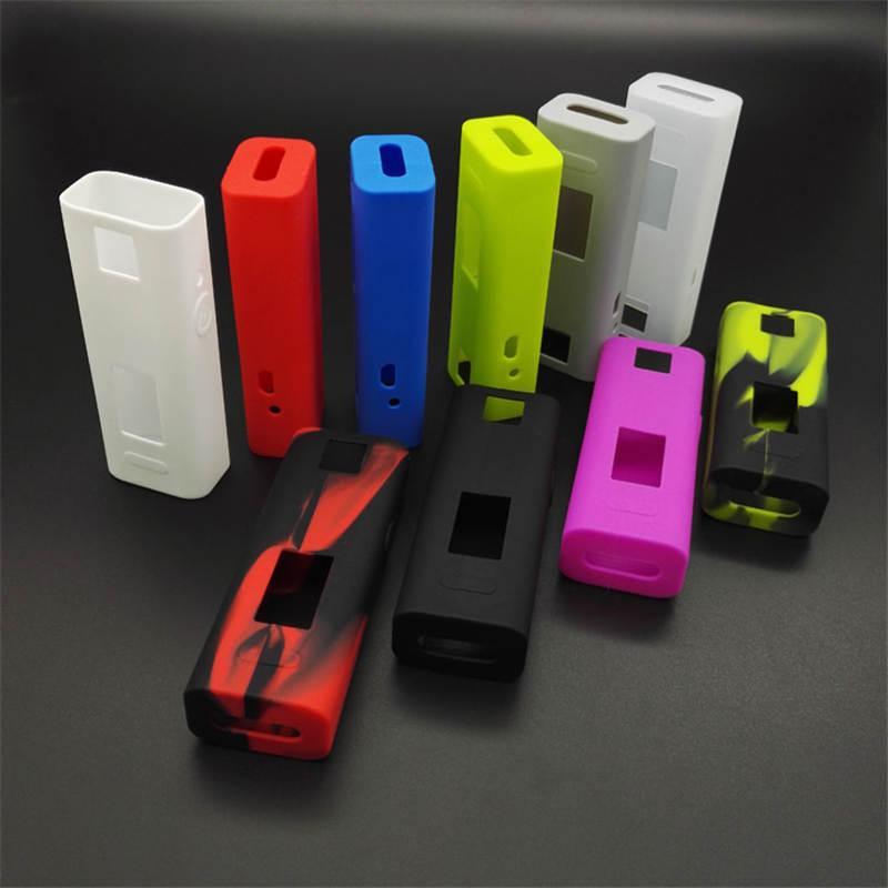 Colorful Cuboid Mini Silicone Case E Cigarette Protective Rubber Sleeve Cover Cases Skin Bag For Joyetech Cuboid Mini 80w TC Box Mods DHL