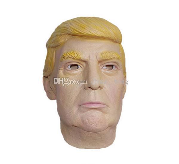 Máscaras de máscaras atacado EUA Presidente Candidato Mr Trump Máscara De Látex Máscara De Látex Máscara de Látex Donald Trump Máscara De Látex