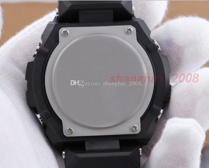 Luxus Smart Uhren Männer G Military Army Waterproof Schock Stahl Sportuhren Auto Licht LED GST200 Chrongograph Uhr Mit Originalverpackung