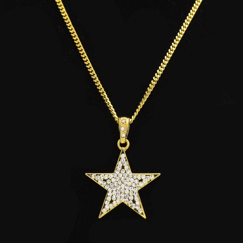 celestial moon diamond stars gold pin and jewelry crescents