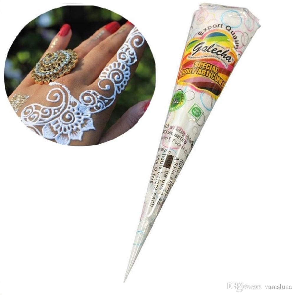 Acheter Tatouage Temporaire De Pate Blanche De Henne 3x Pour Le