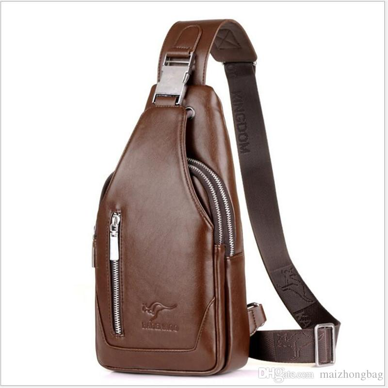 4da3a06ca91b 2017 New Brand Name Men Bags Crossbody Single Shoulder Bags Sport Chest Bag  Travel Backpack Hot Sale Article Man Bags Leather Satchel From Maizhongbag