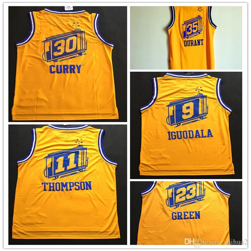 zrtsm 2018 # 35 Kevin Durant 30# Stephen Curry Jerseys 11# Thompson 23