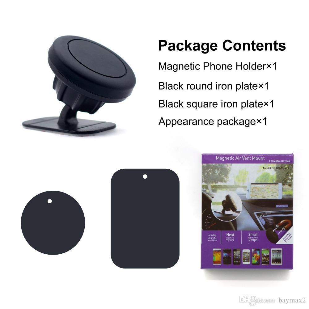 Supporto del telefono del magnete del supporto del cruscotto del supporto del telefono dell'automobile di MagnetIc con adesivo il telefono cellulare universale