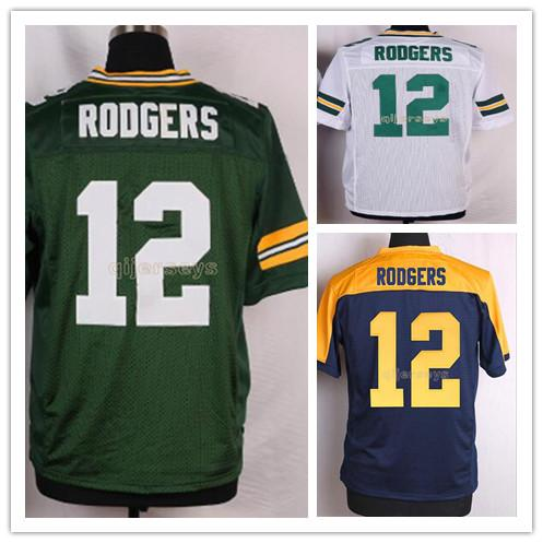 lowest price 2eabe e74ef 12 aaron rodgers jerseys wholesale