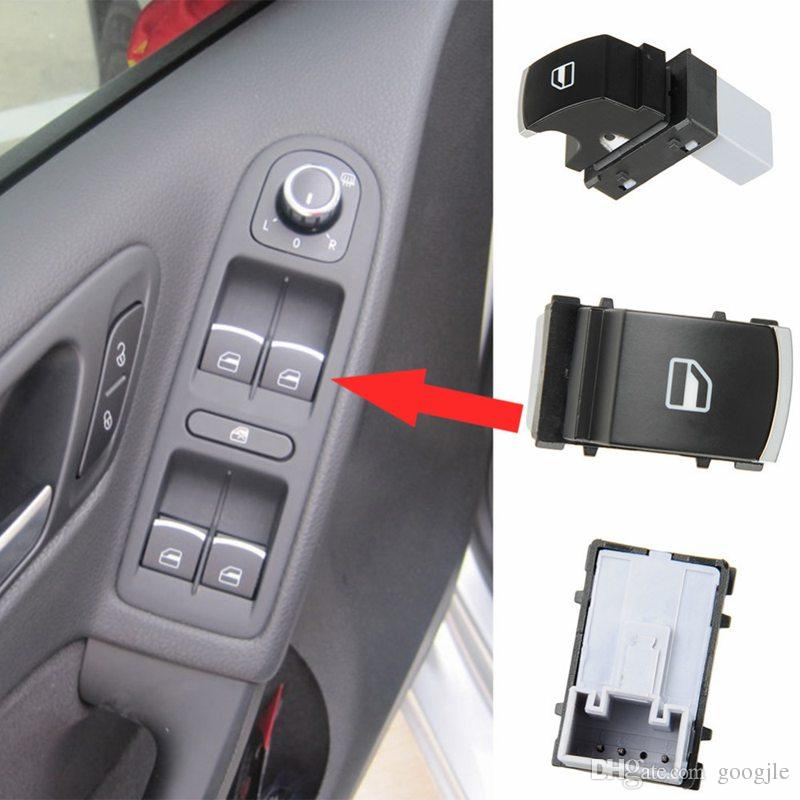 Interruttore sollevatore finestra cromata OEM originale VW Jetta Golf GTI MK5 MK6 Passat B6 3C Coniglio Tiguan 5ND 959 855 5ND959855