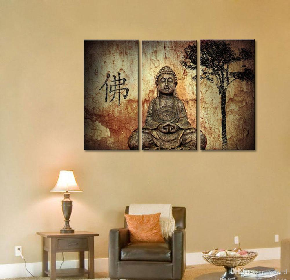 2018 Modern Artwork Wall Art Home Decor Buddha Poster Prints ...