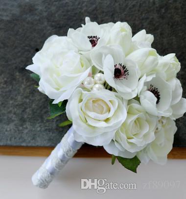2018 luxurious white wedding bouquet flowers wedding corsage flowers 2018 luxurious white wedding bouquet flowers wedding corsage flowers for men wedding wrist flower from zf89097 1084 dhgate mightylinksfo