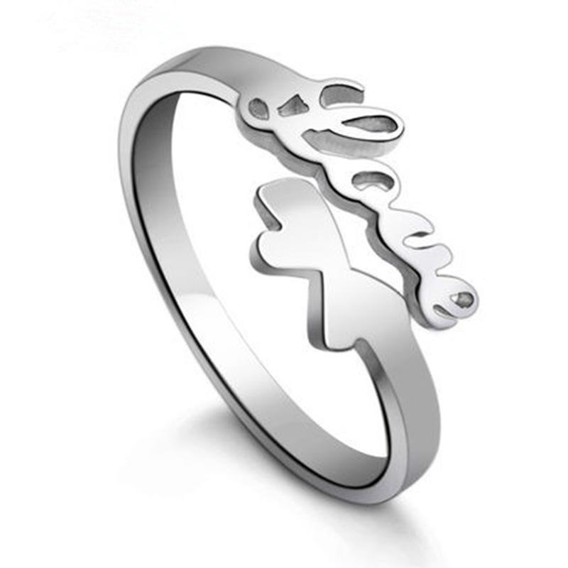 Hip hop Jewerly Rings Dolphins Dragonfly Wings Of The Angel Love Fox Butterfly Opening Adjustable Ring For Women will and sandy drop ship
