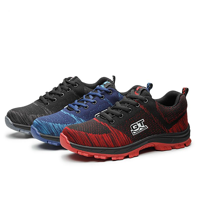 UK Shoes Store - Mens work Walking Hiking Trail Outdoor Sport Running mesh Trainers shoes size