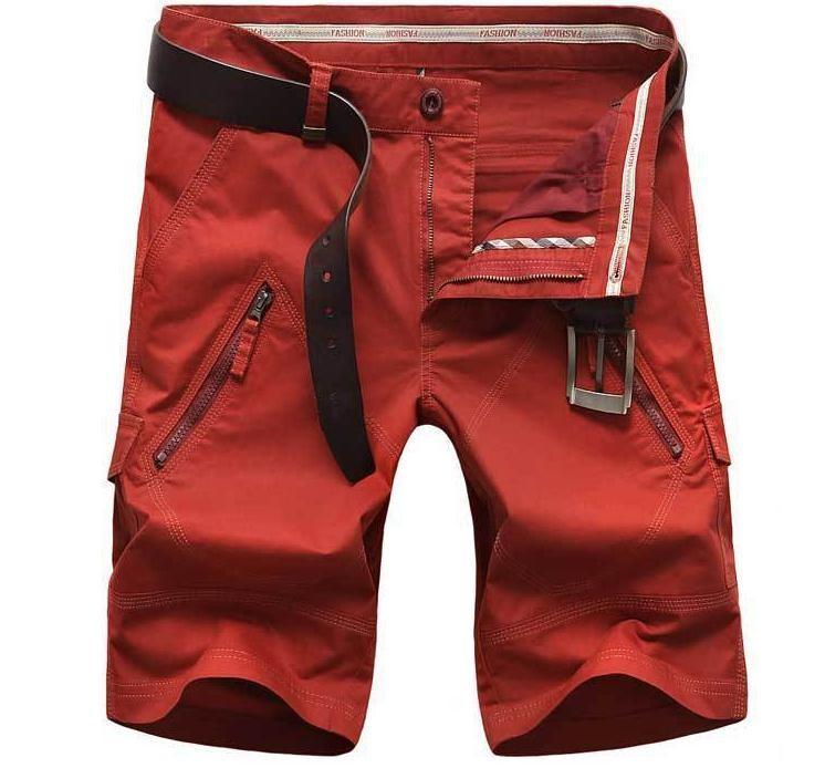 8ff13da596 Wholesale- Plus Size 48 50 Men's Shorts 2017 Summer Leisure CARGO Shorts  Straight Loose Fashion Mans Short Trousers Bottoms Cargo Shorts Cargo Shorts  ...