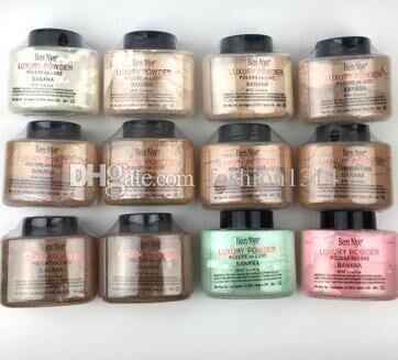 Sıcak satış profesyonel Ben Nye Lüks Toz Poudre de Luxe muz tozu yüz bakımı gevşek toz 42g fabrika kaynağı
