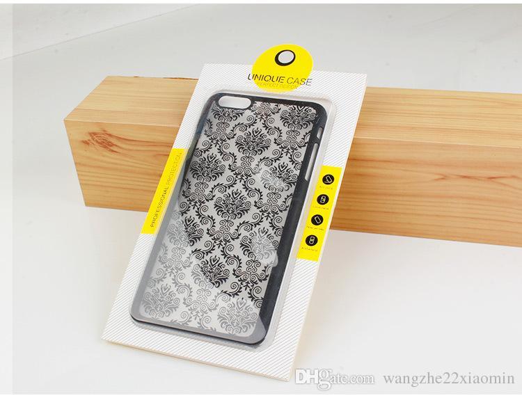 Venta al por mayor Universal Pesonalize Design A prueba de polvo Teléfono de diseño perfecto Embalaje para iphone 7 7plus con blister de PVC