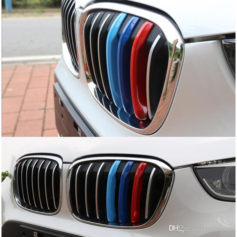 Styling Abs Car Grille Stripe Sport M Grill Emblem Decal Sticker - Bmw grille stripe decals