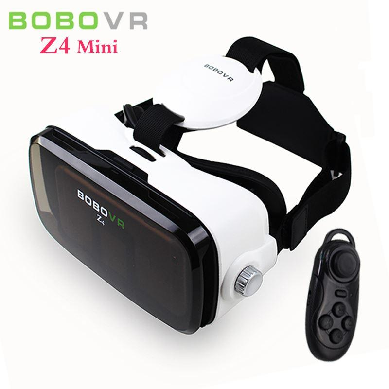 5198e02792cd BOBO VR Z4 Mini Virtual Reality Glasses Helmet Vrbox VR Headset Mobile 3D  Private Home Theater For 4.7 6 Smartphone+Controller Video Display Glasses  3d ...