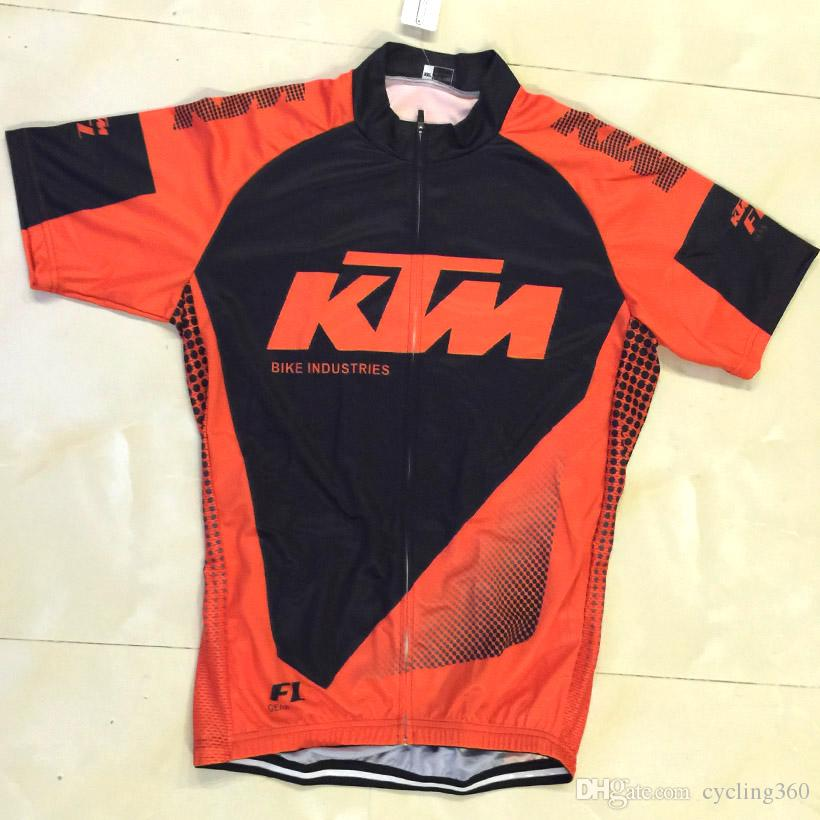 100% poliestere quick dry team pro ciclismo indossare 2019 KTM ciclismo squadra jersey bike shorts in gel set mens ummer abbigliamento ciclismo
