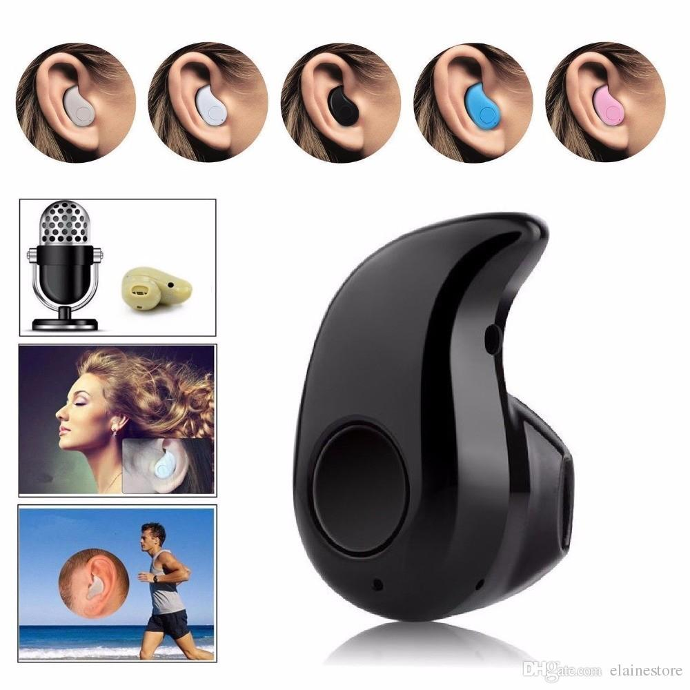 Kleiner Stero S530 Bluetooth Kopfhörer 4,0 Auriculares drahtloser Kopfhörer Handfree Mikroohrhörer für intelligentes Handy Android