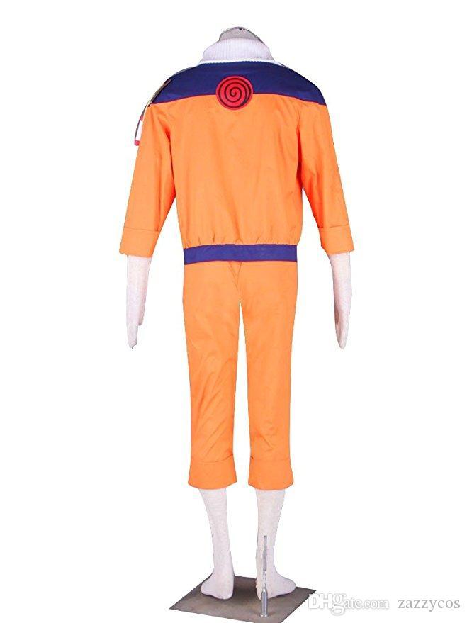 Naruto Uzumaki Cosplay Costume Naruto Outfit