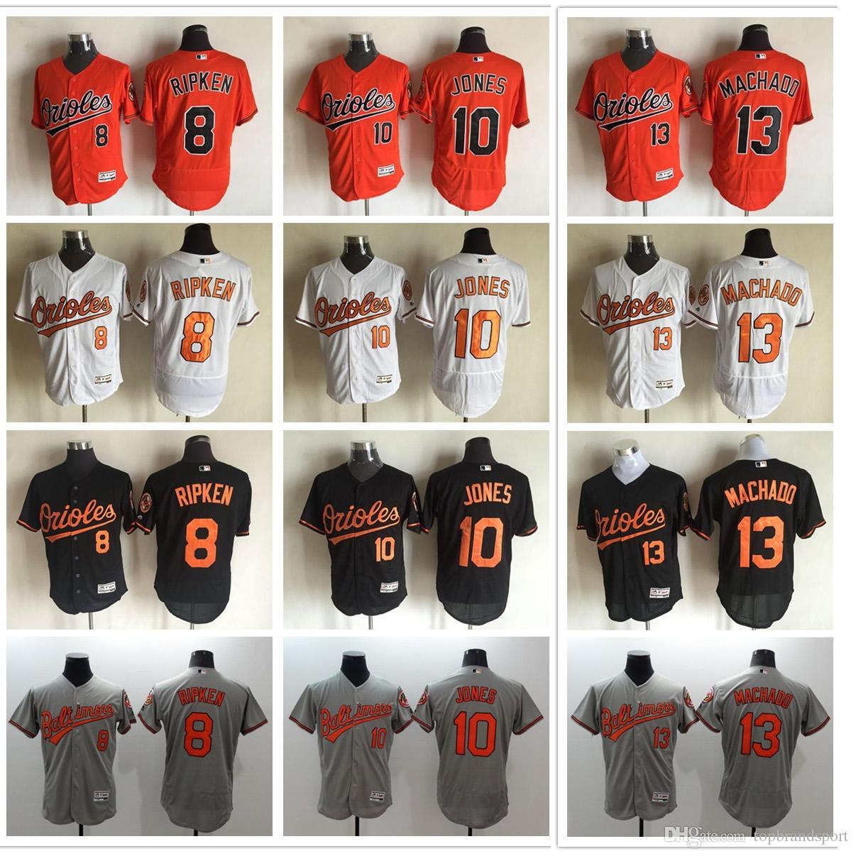 04378d4f6a3 ... 2017 2017 Baltimore Orioles Baseball Jerseys Flexbase 10 Adam Jones  Jerseys Men 13 Manny Machado Cool ...