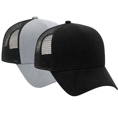 89b990958ebd1 Cotton Flannel Trucker Hat with Adjustable Mesh Back Justin Bieber SOLID  BLACK