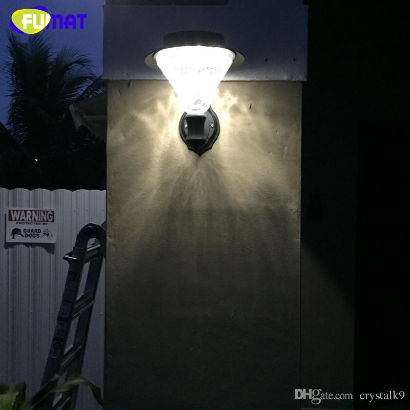 Fumat outdoor solar wall lamp garden yard pathway led 3 x 1200mah fumat outdoor solar wall lamp garden yard pathway led 3 x 1200mah ni mh battery included ip65 solar lamps wall sconce outdoor solar wall lamp garden yard aloadofball