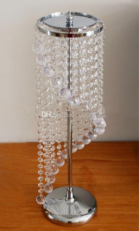 commercio all'ingrosso basamento di fiore di cristallo, Sky Wheel Acrilico Crystal Wedding Centrotavola / centrotavola / matrimonio pilastro, Wedding Decor