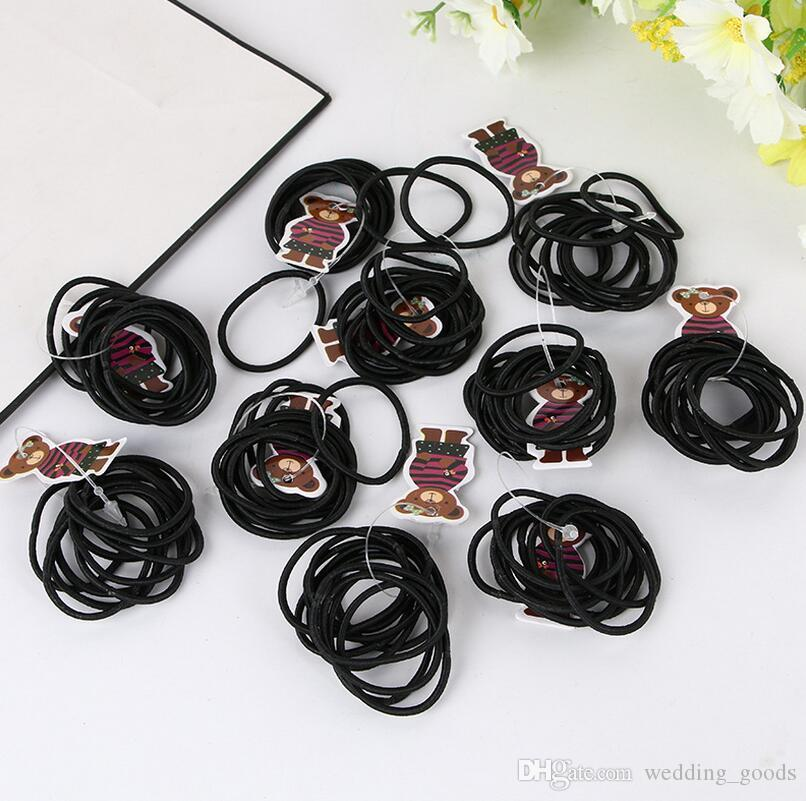 Hot sale Selling high-explosive hair rope hair ornaments color seamless seams FQ006 100 =