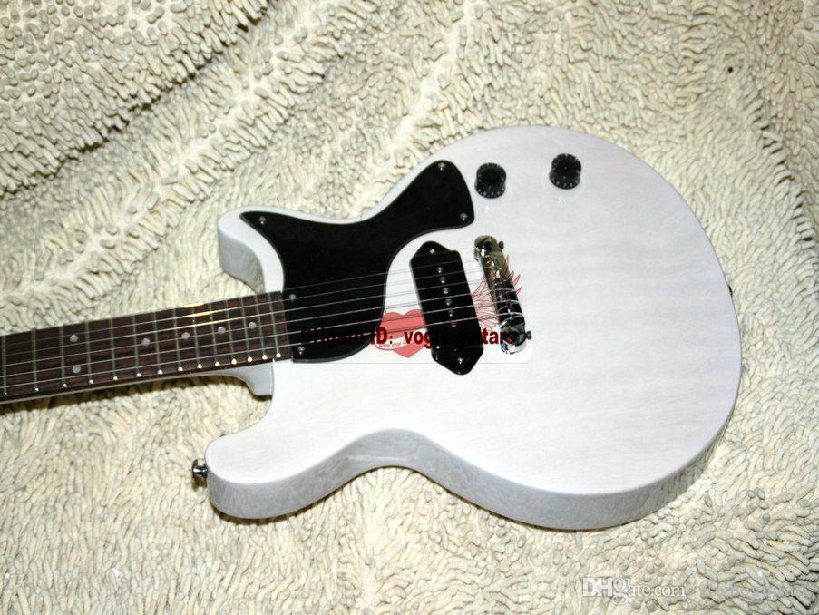 OEM Musical instruments New Arrival White Electric Guitar