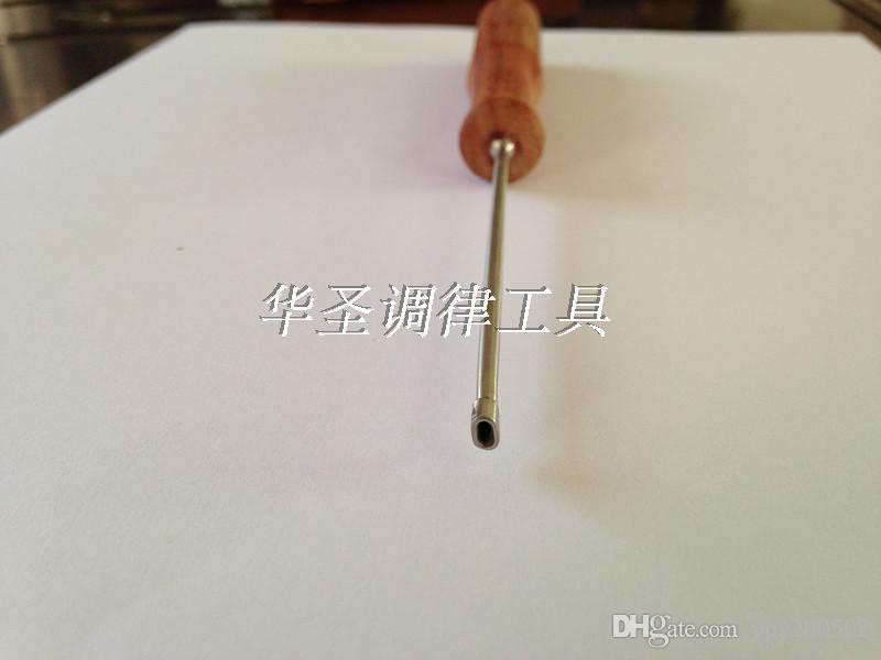 L'outil de réglage de piano GP petit rétrécissement Trigon petit retrait Petit ajustement de câble Rouge avec manche en bois