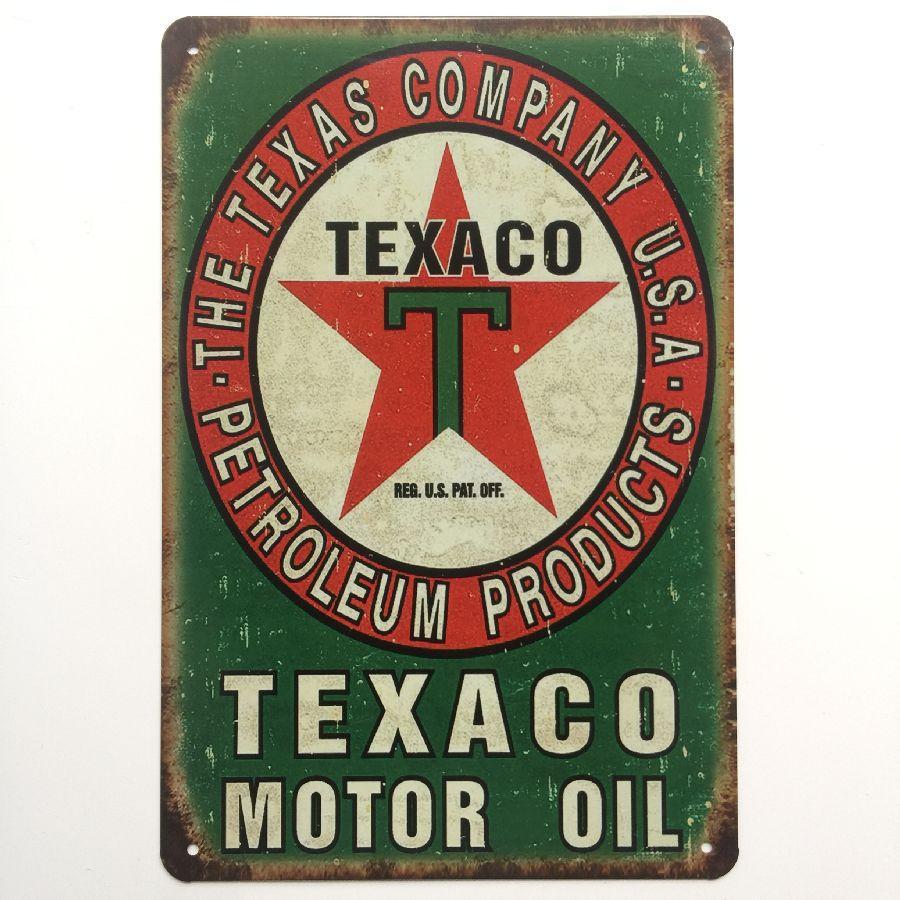 Tool Rules Magic Motor Oil Garage Prayer Toilet Rules Texaco Retro rustic tin metal sign Wall Decor Vintage Cafe Shop Bar home decor