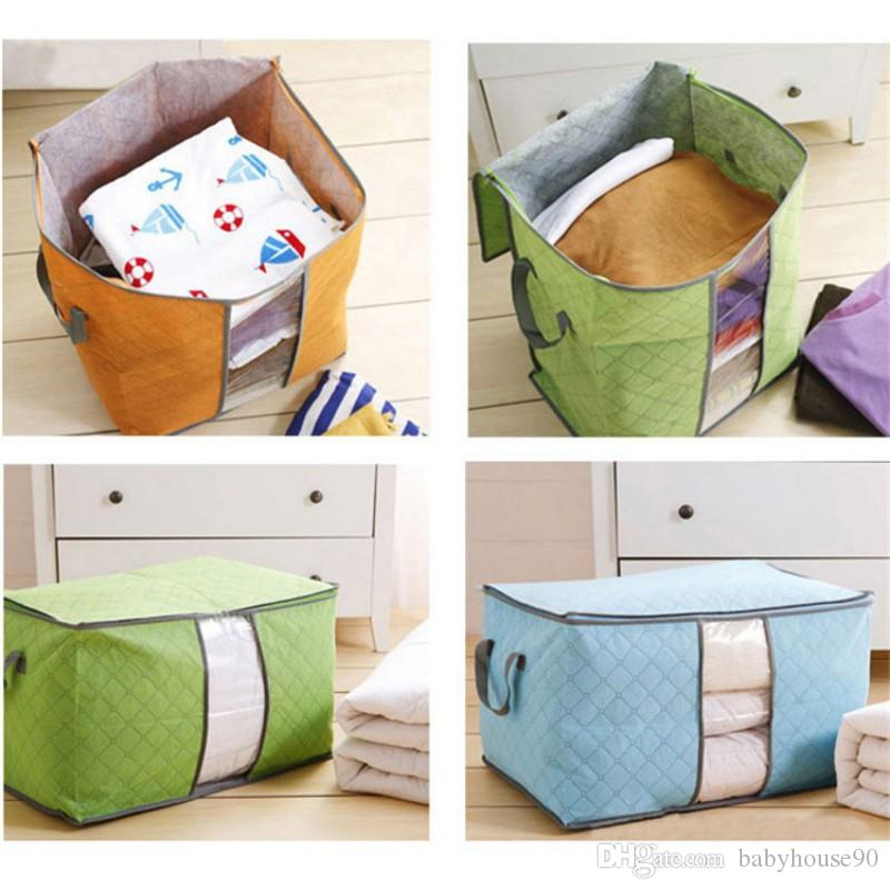 2018 Quilt Storage Bag Clothes Packing Sack Blanket Pillow Case ... : quilt storage bags - Adamdwight.com