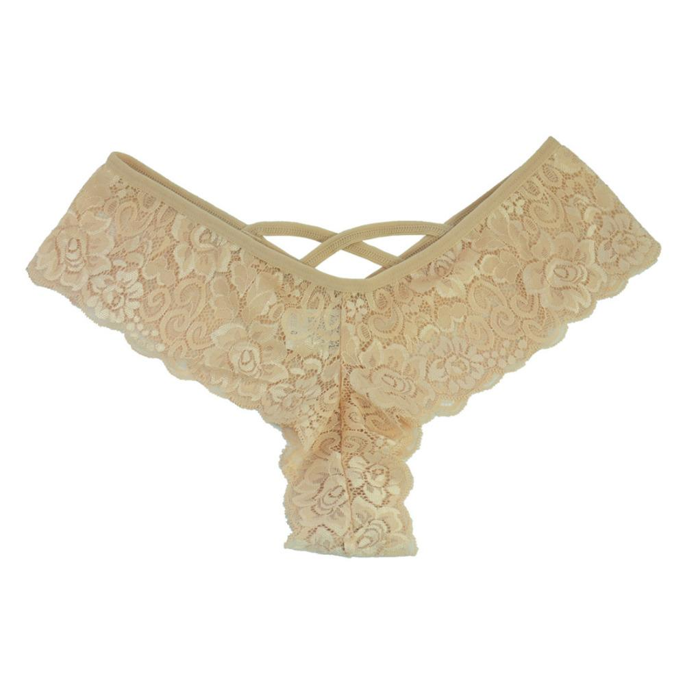 New Sexy Lace Thong Panties Good Elastic Underwear Women Mini G-string G String V Back Strappy Brazilian calcinha 3XL 2XL XL-S
