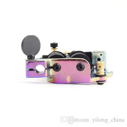 YILONG New Arrival Permanent Makeup Tattoo Gun Machine Handmade Tattoo Machine 10 Wrap Coils Tattoo Machine