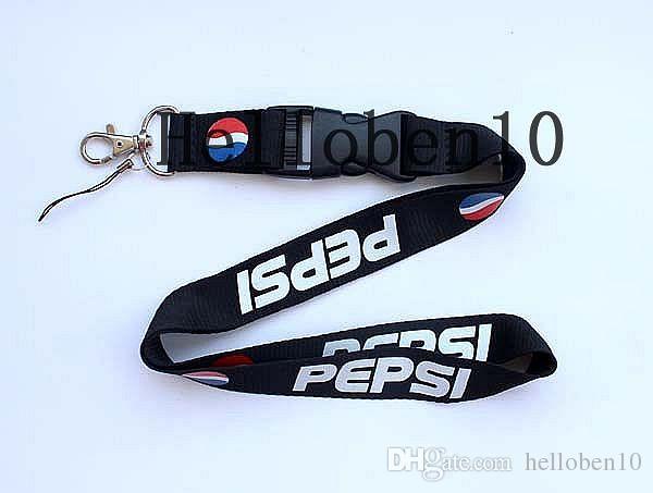 Chaud! Pepsi Cola boit une lanière porte-badge détachable porte-clé MP3 charme DS Lite