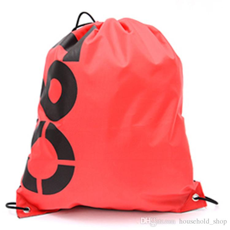 2018 Portable Home Travel Storage Bag Outdoor Sport Gym Hiking Drawstring Backpack Bag Oxford Fabric Clothing Shoes Organizer Pouch