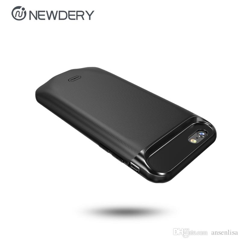 Hot selling 2500mAh External backup case fast charging mobile power bank case portable battery charger case for iPhone 6 6s