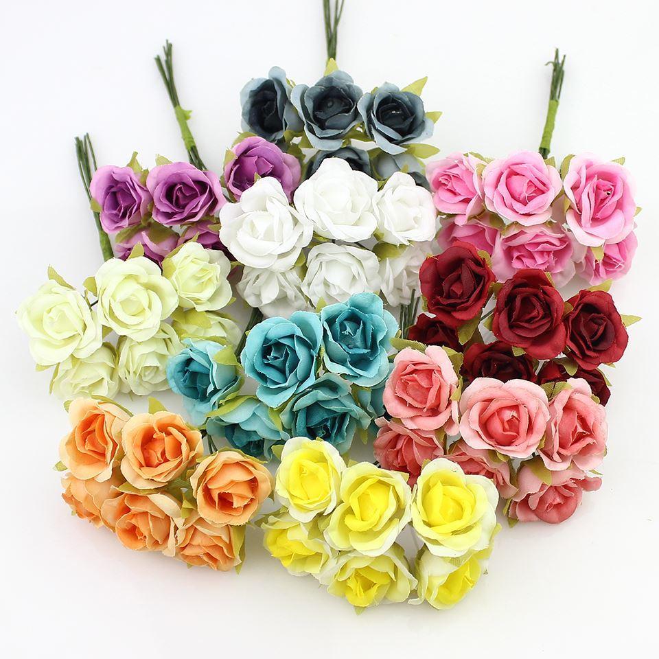 2018 2cm silk rose artificial flower bouquet for scrapbooking 2018 2cm silk rose artificial flower bouquet for scrapbooking decorative wreath diy wedding decoration fake flowers from linyoutu 1032 dhgate izmirmasajfo