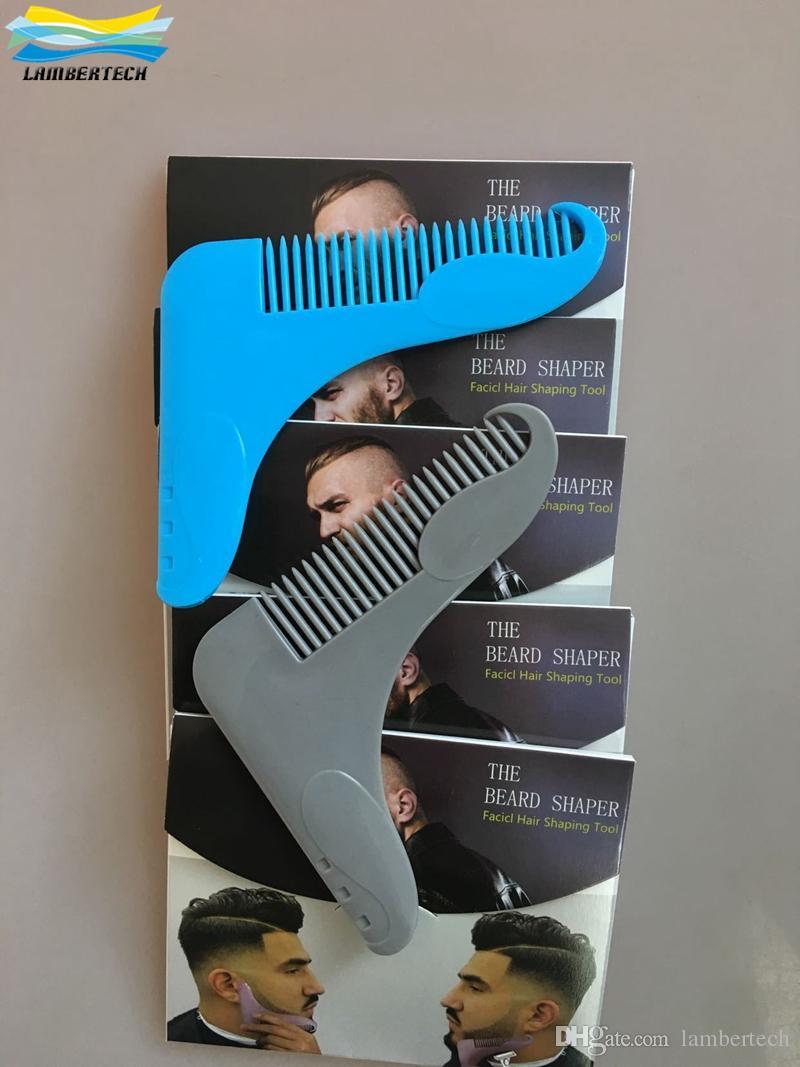 Waxing Neck Hair: Professional The Beard Shaper Comb Creates Symmtry Beards