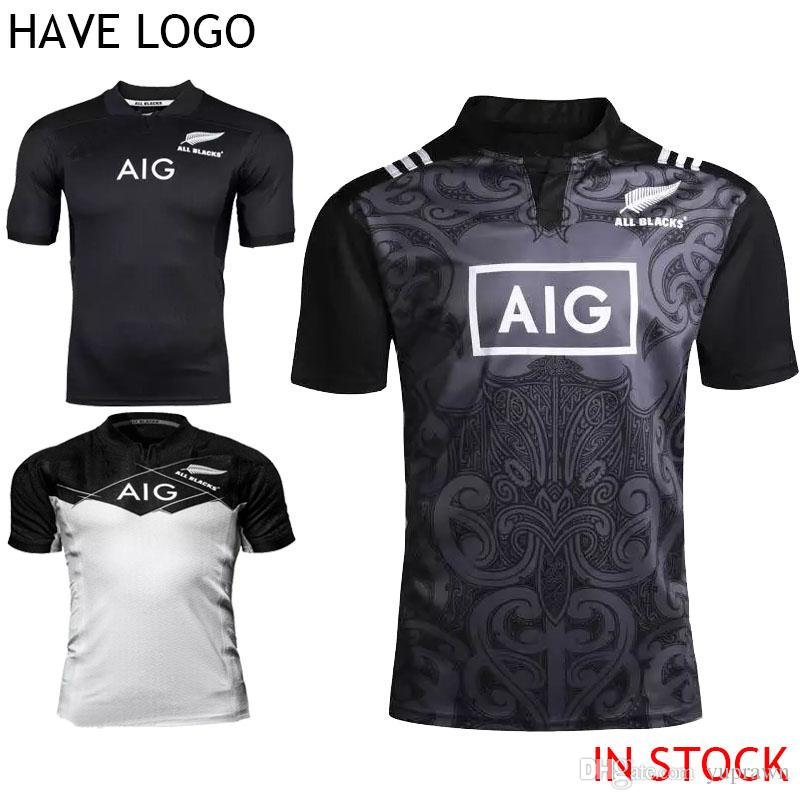 2017 Mens Adults 2016 2017 Maillot New Zealand All Blacks Rugby ...