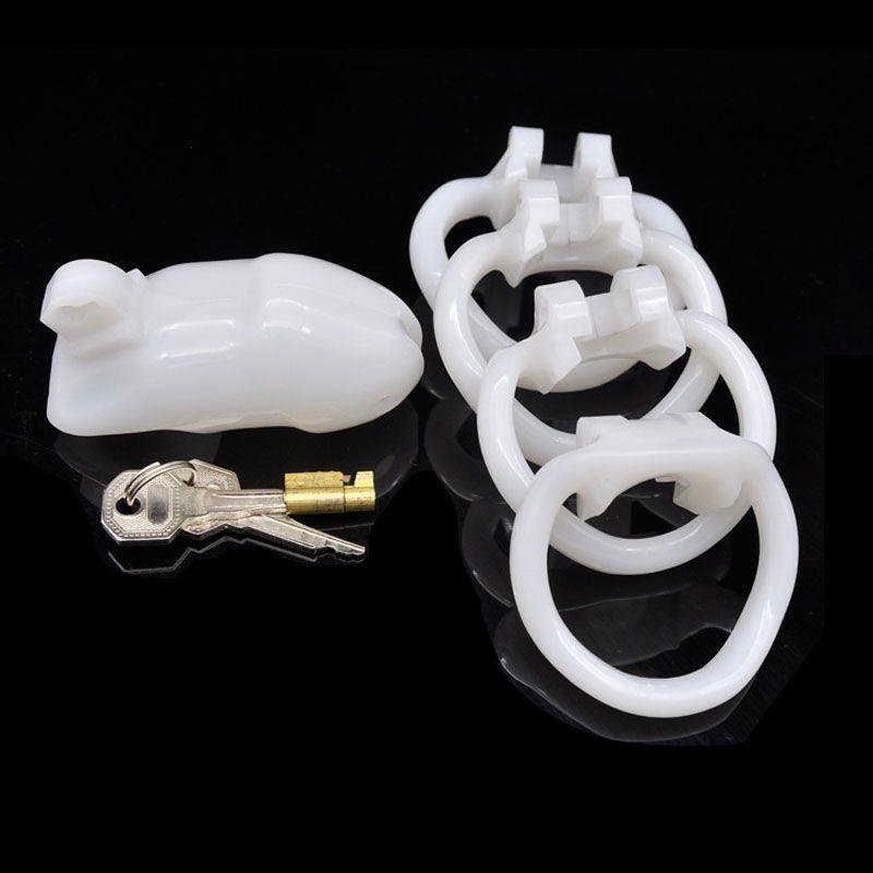 Super curto tipo masculino dispositivo de gaiola de castidade penis bloqueio galo gaiolas bdsm escravidão dispositivos produtos do sexo dos homens para pau de bloqueio CP-A238