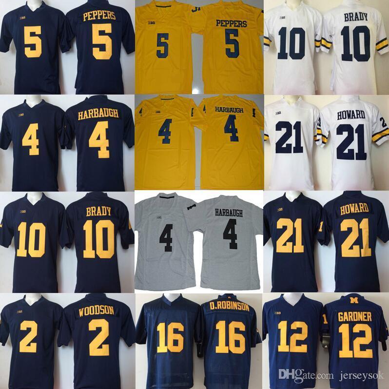 2018 College Gardner 10 Tom Brady 2 Charles Woodson 4 Jim Harbaugh