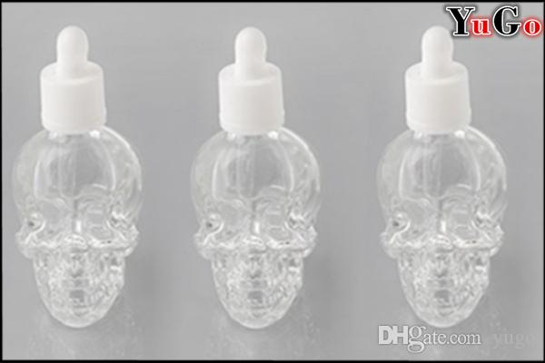 GS-3 # -30ml زجاجة أوقية سائلة هيكل عظمي / جمجمة