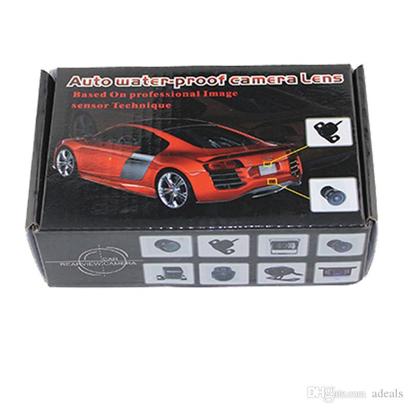 Auto-Rover-Nachtsicht-Auto-hintere Ansicht-Kamera 170 Grad-Rückseiten-Unterstützungs- und Parkkamera-universeller wasserdichter 1/4 Farb-CCD-Bildgebungs-Chip