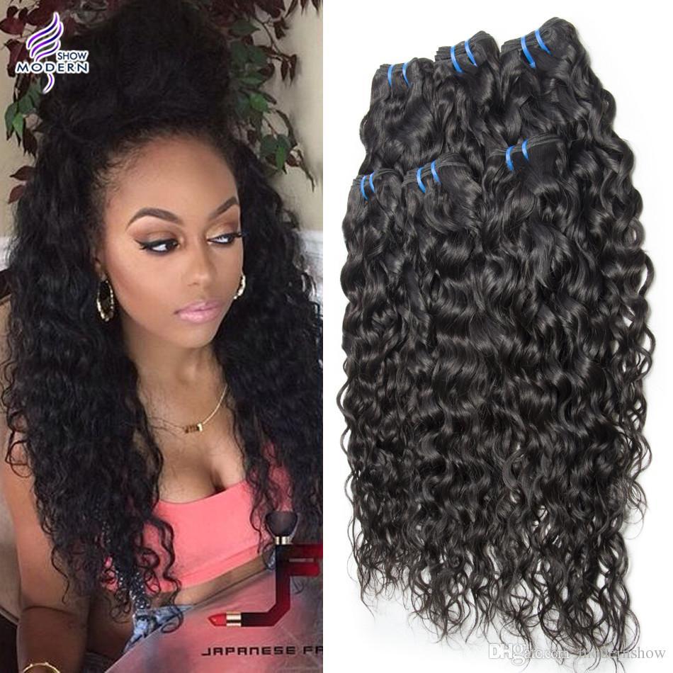 Wet And Wavy Brazilian Virgin Hair 3 Bundles Brazilian Human Hair