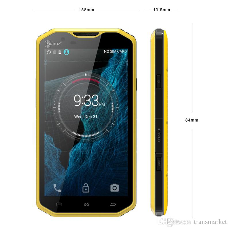 Kenxinda W8 Smartphone 5.5Inch MTK6573 OctaCore Android5.1 Cellphone DualCamera 8.0MP BackCamera DualCard 3000mAh Smartphone 2GBRAM 16GBROM